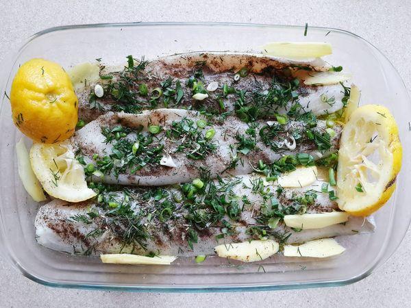 Fish BBQ Marinade Barbecue Limon Ginger Olive Oil Kiev Kyiv Tasty