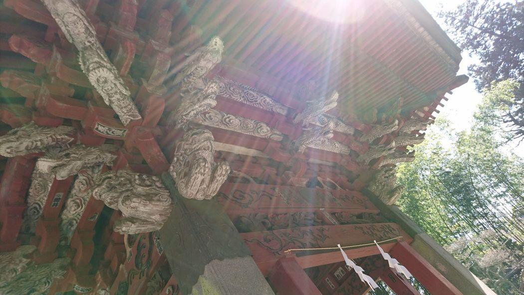dragon head and sunshine Shrine Of Japan Shining Bright Japan Ryujin Dragon