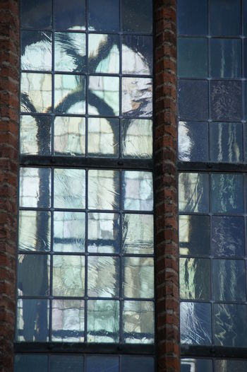 Double glass Architecture Church Close-up Heusden No People Old Buildings Stained Glass Window Your Ticket To Europe