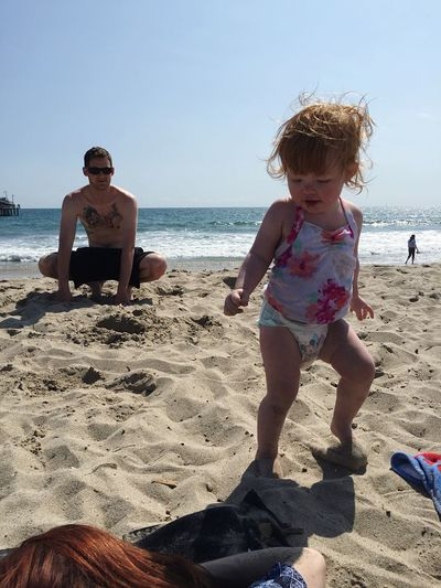 Enjoying The Sun Beach Day Beach Photography Fun With Family Beachphotography Vacation