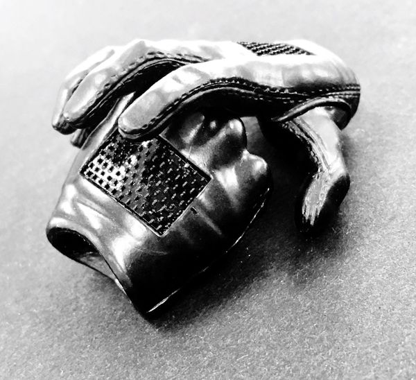 Close-up No People Indoors  Pair Small Objects Human Body Part Hands Gloves Blackandwhite Black And White Black & White Black Background