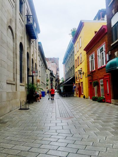 Building Exterior Architecture Built Structure Cobblestone Street Outdoors The Way Forward City Canada