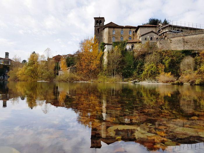 Reflection Architecture Cloud - Sky Water Sky Day No People Outdoors Cividale Del Friuli Friuli Venezia Giulia Udine River Cividaledelfriuli