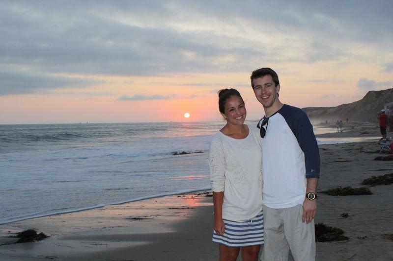 Love Is In The Air Valentine's Day  Valentine Beach Sunset