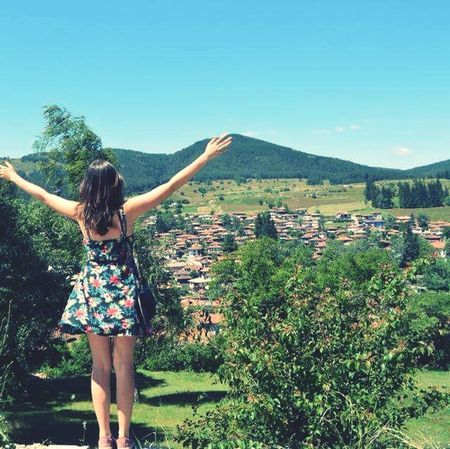 Proud to be born in Bulgaria ! Love her Nature Mountains and love feeling the Freedom ! Native Feelingfree Sky Summer Hiking Travel Small Village Beautiful