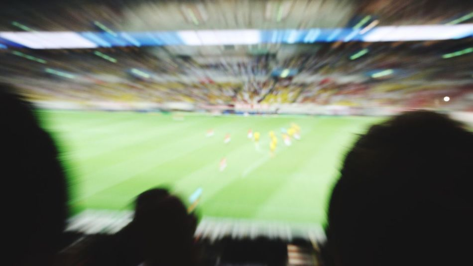 Stadium Soccer Real People Spectator Crowd Large Group Of People Leisure Activity Enjoyment Audience Blurred Motion Indoors  Men Togetherness Lifestyles Illuminated Sport Fan - Enthusiast Day Competition People Japan Photography Japan Dortmund