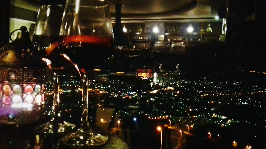 AboutLastNight Wine Night Winelover Wineplease Cheers Chilling Good Times Beautiful Place Beautiful View Out Of City🍷💕