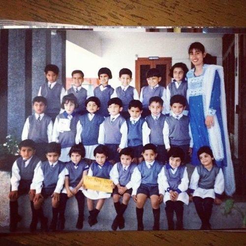 A life time ago Memories Prenursery BSS Family friends @h_a_dar @abilalsajid