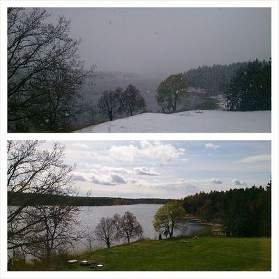 Sweden Norrtelje V ätö Spring winter snow sun igsweden 1may