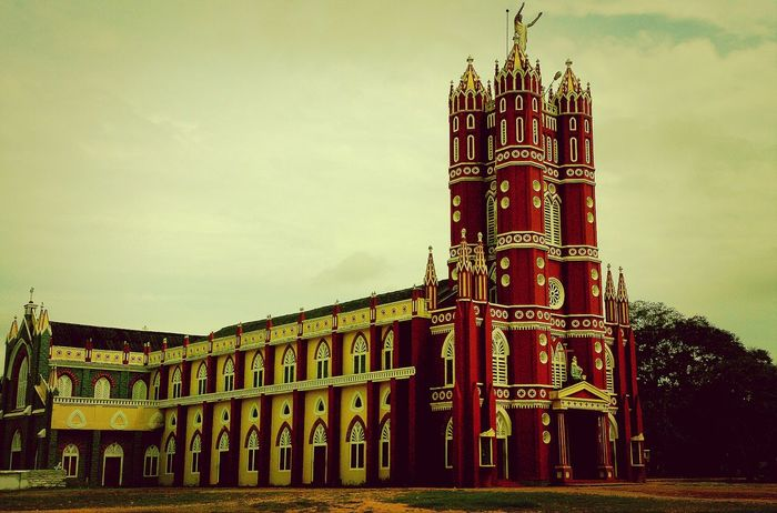 Church India Kerala Taking Photos