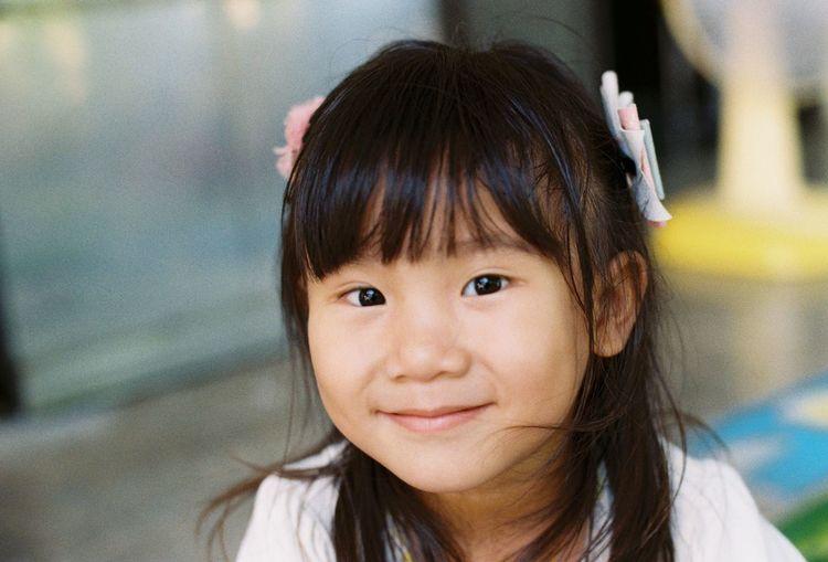 Girl Kid Asian