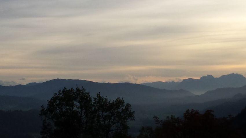 Sunset Oberallgäu Oberstaufen Bavaria Clouds And Sky