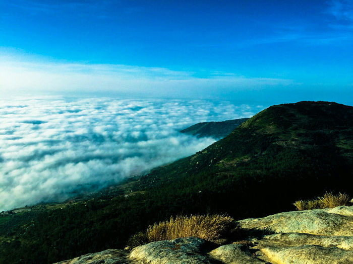 Cloud_collection  Cloud And Sky Landscape_photography Landscape Nature Photography Sunrise Time Morning Light Travel Photography Heaven And Earth Nandi Hills Bangalore India Mountains And Sky Hill Country Landscapes With WhiteWall