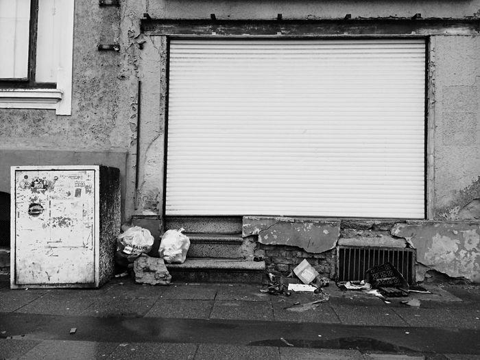 Urbaninfluence Blackandwhite Closed Vacant Secrets Imaginations