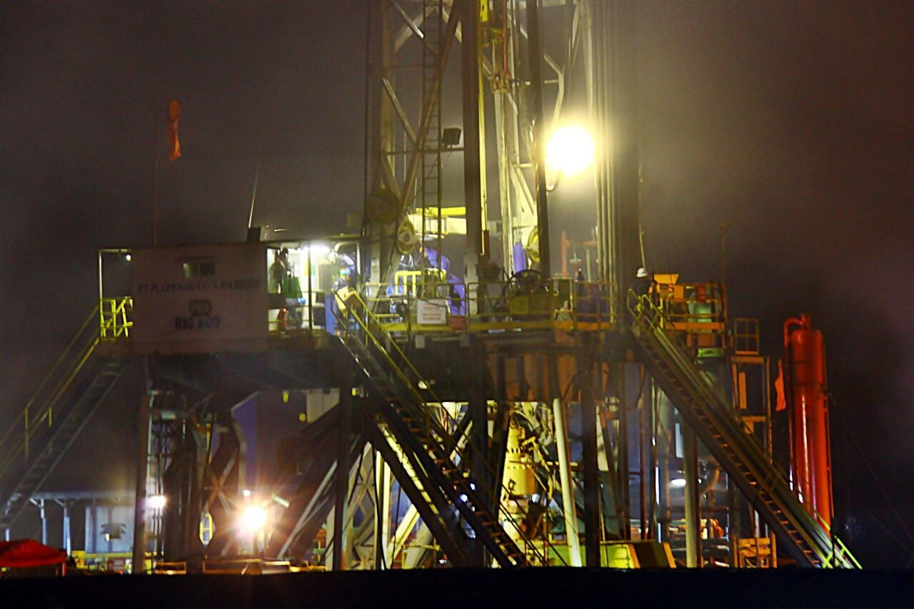night, illuminated, industry, factory, built structure, no people, outdoors