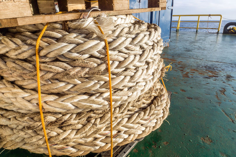 mooring rope Maritime Nautical Mooring Rope Hawser Thread Nylon Lines Offshore Offshore Life