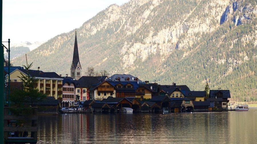 Hallstatt Architecture Water Reflection Landscape_photography Lake View Austria 🇦🇹