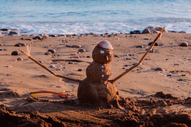 EyeEm Selects Sand Beach Day Rusty No People Water Outdoors Sea Nature Close-up Ibiza Ibiza Beach Nature Vacations Aguas Blancas
