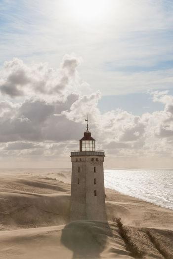 Clouds Over Rubjerg Knude Lighthouse