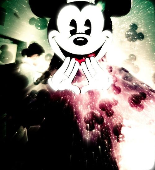 Me As Mickey Mousee