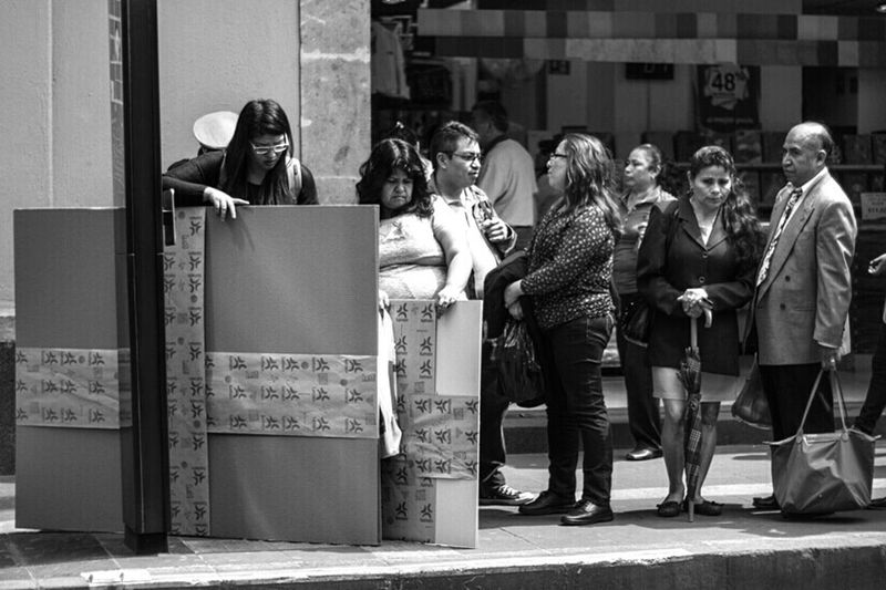 People Street Photography Streetphoto_bw EyeEm Gallery EyeEmBestPics Blackandwhite Monochrome Urban Photography Mexico City Public Transportation