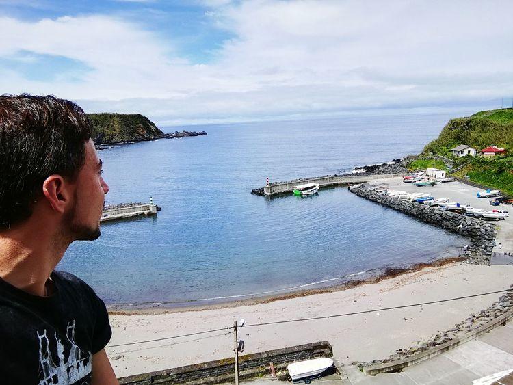 A linda baía da minha freguesia! Porto_Formoso Sao Miguel- Azores Oimportanteétersaúde first eyeem photo