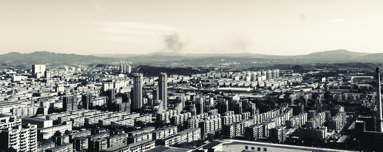 China, Dalian City Sky