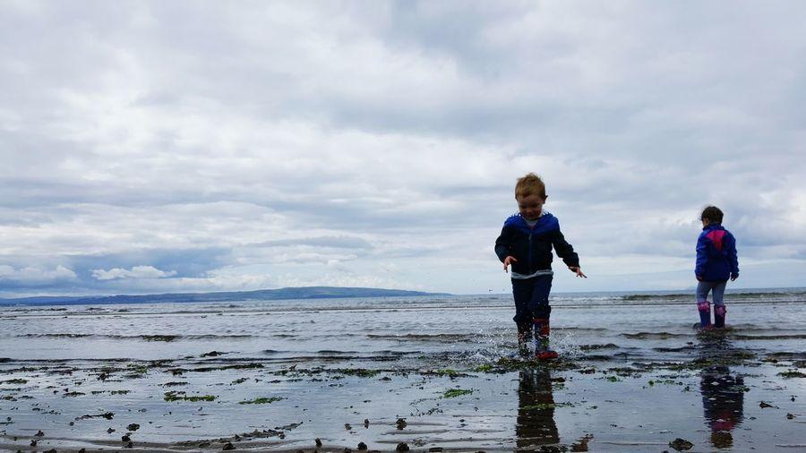 Troonbeach Troon Scottish Summer Scotland Childhood Childhoodmemories