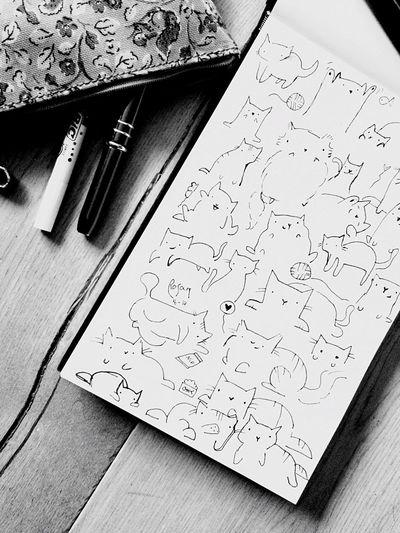 Drawing Sketchbook Sketch Flowers Pencil Black Pen Enjoying Life Relaxing Relaxing Moments Blackandwhite