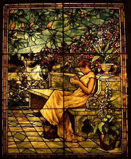 More Gilded Age Stained Glass in the Lightner Museum collection Art Human Representation Gilded Age Lightner Museum Oldest City In America Architecture And Art Multi Colored Stained Glass Architecture