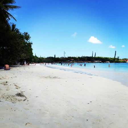 Beach Blanc Ile Des Pins Kuto Beach Noumea Nouvelle Calédonie Plage Sable Sand Tropical Tropical Paradise White