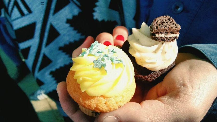 Cup cakes! Sun Sweet Spring Tiny Cakes Icing ♥•♥  EyeEm Gallery Mayday  Kreuzberg