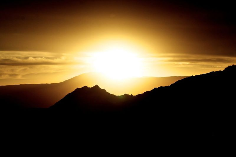 Landscape Silhouette Sunset Silhouettes Mountains EyeEm Nature Lover Adventure EyeEm Best Shots