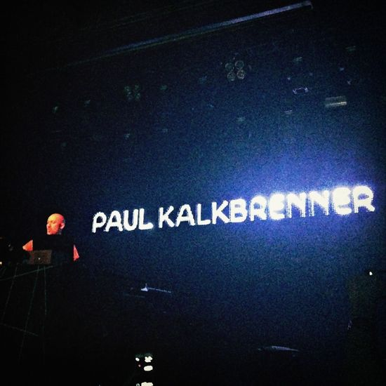 Paul Kalkbrenner Concert Music Newyork