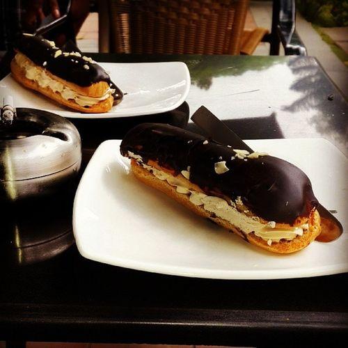 Chocolate Eclair French Loaf yummy
