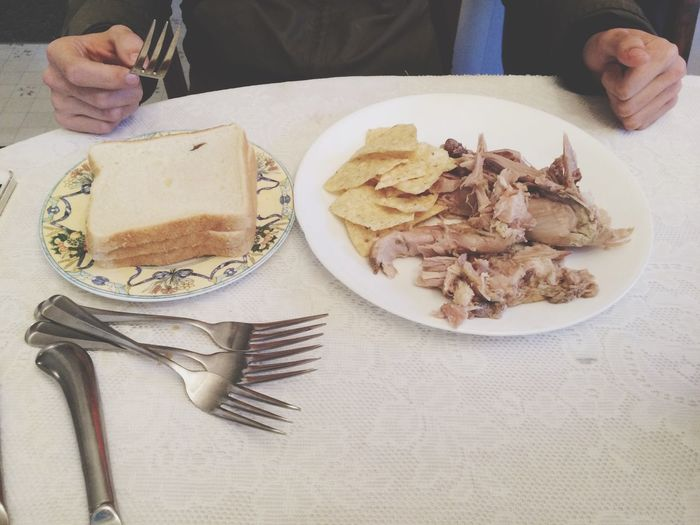 The saddest thanksgiving plate in all the land. Japanesekid Monotone