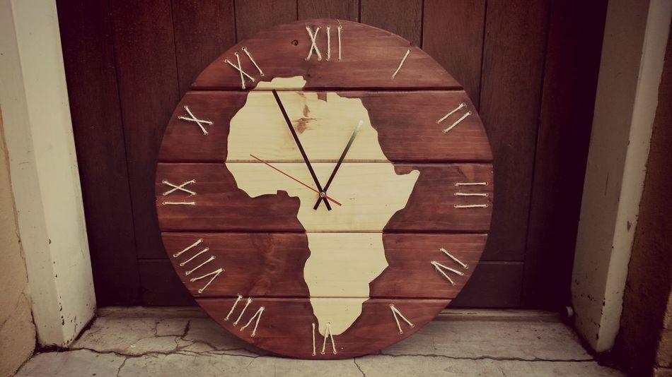 Handmade Mynewhobby Woodenclocks Wooden Pallet my new beautiful clock I made ♥