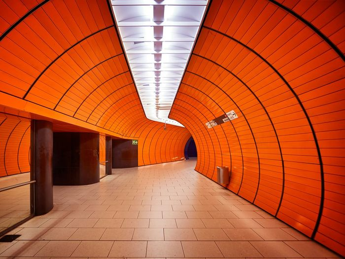Marienplatz Subway Station in Munich has a really Awesome Architecture that reminds me of a Basketball. Germany EyeEm City Cityscapes