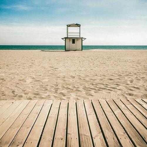 Beach Hut. Photography SPAIN Beach Ishootfilm Fujifilm Velvia Canon Igwales T90 Andulucia