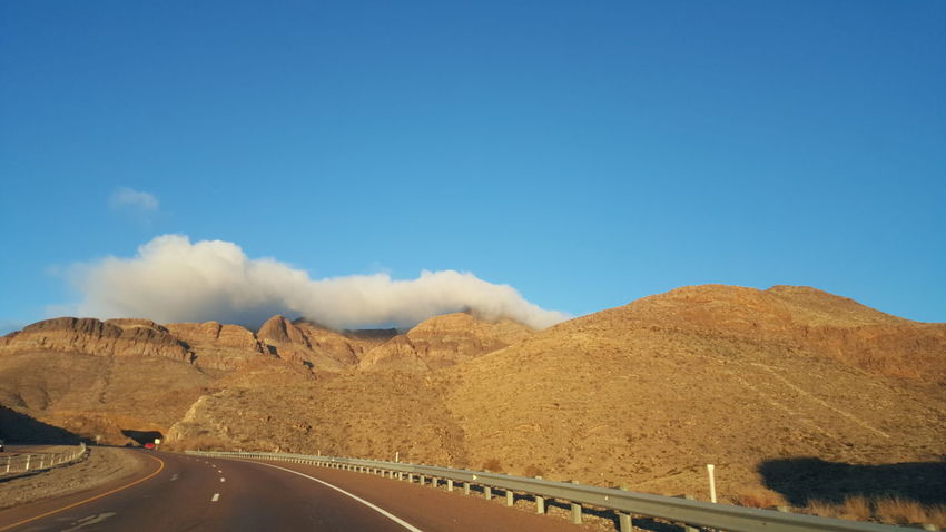 Mountains EyeEm Selects Road The Way Forward Transportation Landscape Curve No People Blue Sky Outdoors Cloud - Sky Mountain Winding Road Nature Desert