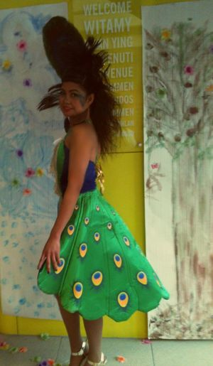 2012 Catwalk 2nd Runner Up ^^ Model Peacock Themed :3