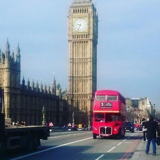 Westminster bridge Londonbus Routemaster Elizabethtower Westminsterbridge