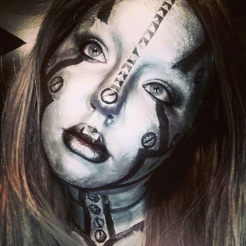 Mehron Halloweenmakeup Robot Robogirl Selfie ✌ Makeup
