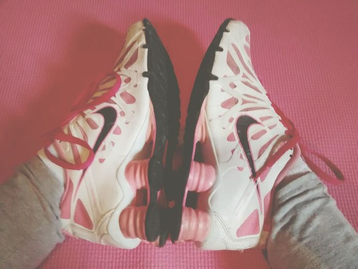 Trying to be more healthy Fitness Beginner Fitness Beginner Thefirm Me :)  Nike✔ Tired Nike Letsdothis Pink ✔