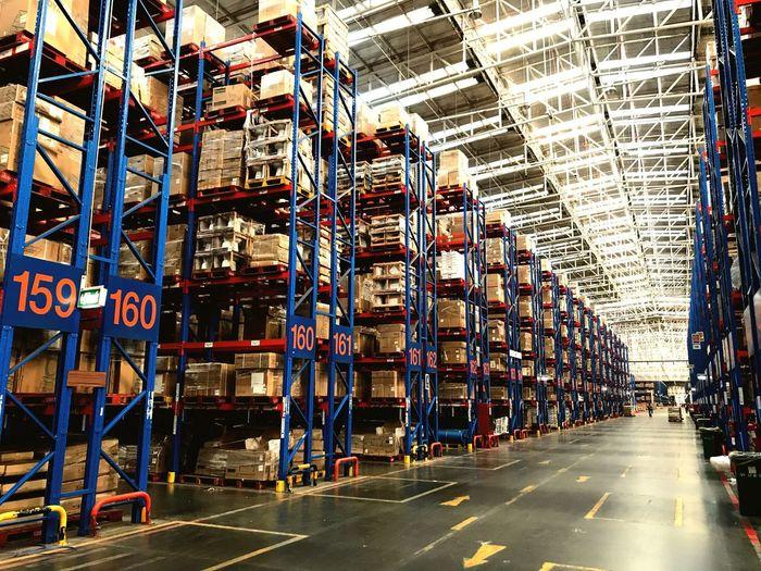 warehouse Distribution Warehouse Warehouse Transportation Mode Of Transport Shipping