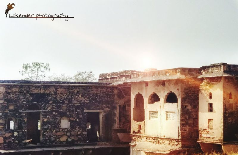 Haveli Sunset Classy Hertage No People Travel Destinations Architecture Sky Outdoors Day Built Structure