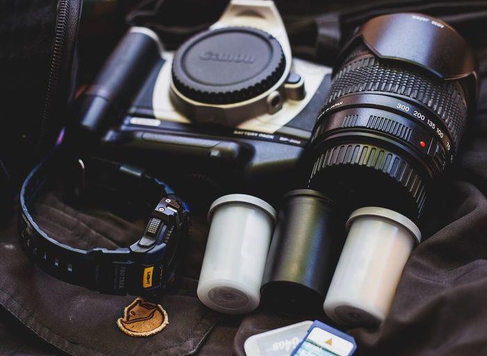 Travel Camera Film Lens