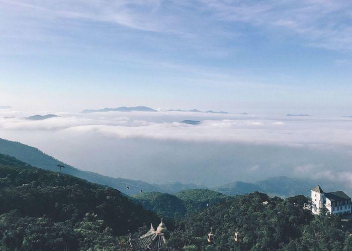 Sky Mountain Nature Beauty In Nature Cloud - Sky Scenics Day Mountain Range Landscape