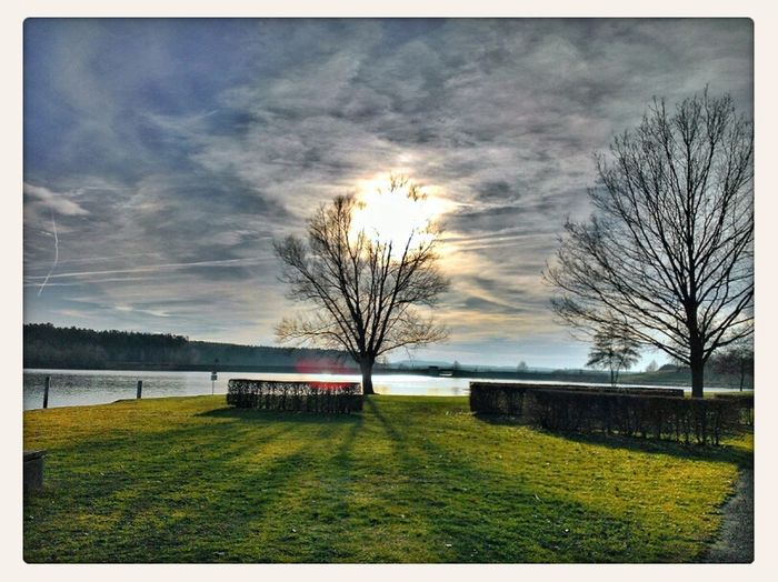 Heut war so ein schöner Tag... Nature Landscape Enjoying The Sun HDR Enjoying Life Snapseed Eye4photography  Rothsee