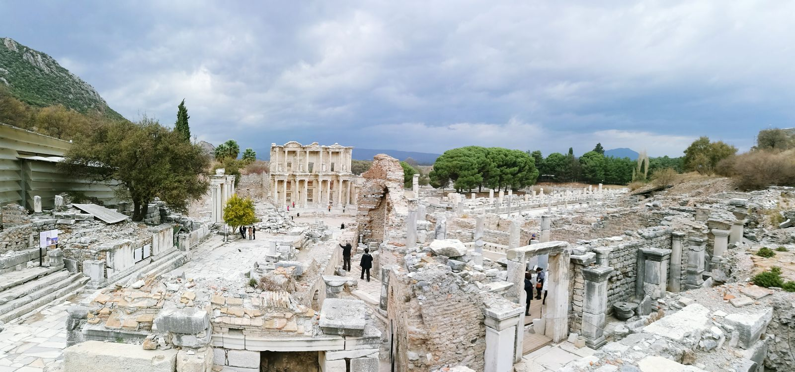 Amazing View Ephesus Ruins Ephesus Roman History Turkey Exciting Ephesus - Turkey Greek History Helenistik Wonderful View